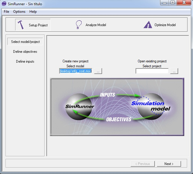 Software SimRunner #2